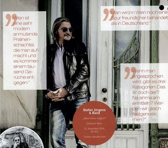 vormagazin stefan jürgens im interview