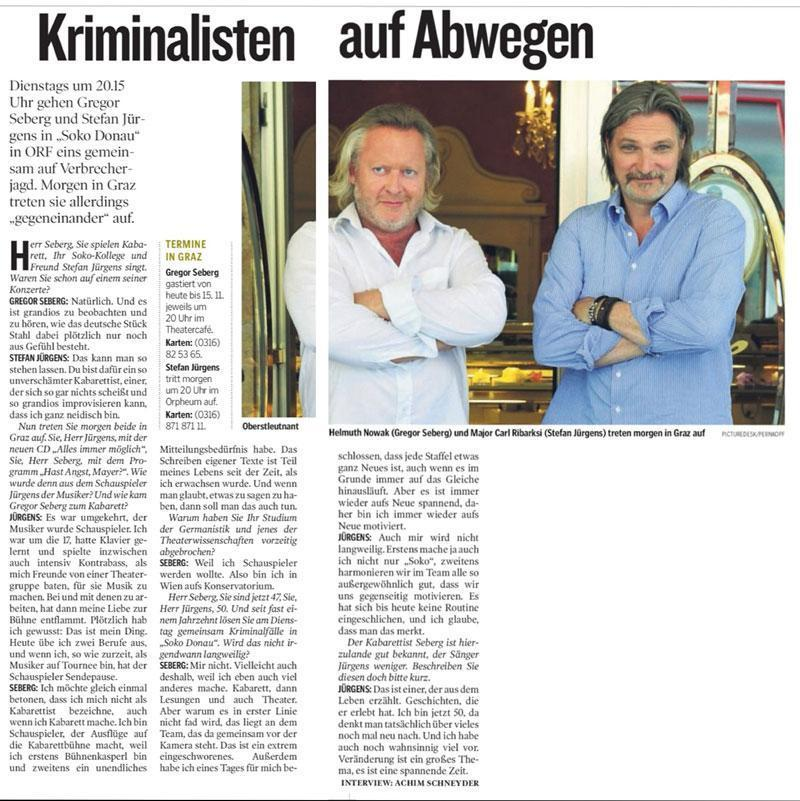 interview kleinezeitung